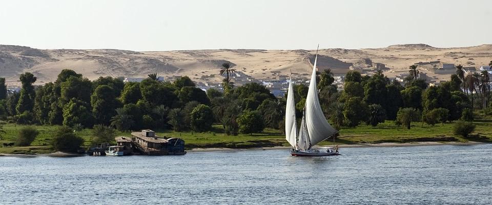 capodanno in Africa sul fiume NIlo fino al Sudafrica